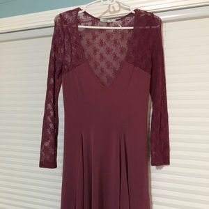 Great holiday lace dress from urban outfitters